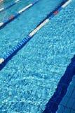 Swimming pool lanes Royalty Free Stock Photos