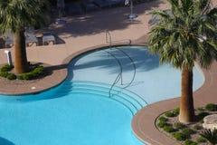 Swimming pool in Las Vegas, Nevada Royalty Free Stock Images