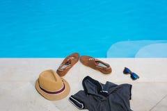 Swimming pool leisure Stock Image