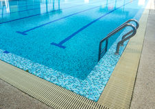 Swimming pool. A line of swimming pool with fresh water Stock Images