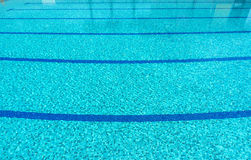 Swimming pool. A line of swimming pool with fresh water Royalty Free Stock Image