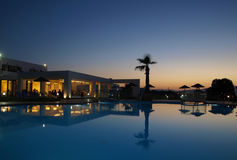 Swimming pool of luxury hote Stock Photography