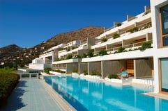 Swimming pool at luxury hotel Stock Image
