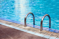 Swimming pool in luxury hotel Stock Photos