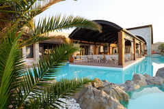 Swimming pool of luxury hotel Stock Photography
