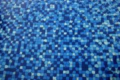 Swimming pool mosaic tiles Royalty Free Stock Image