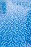 Swimming pool mosaic tiles Royalty Free Stock Image