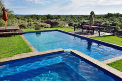 Swimming pool, Namibia Royalty Free Stock Photography