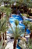 Swimming pool near resort hotel, Eilat Stock Photos