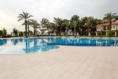 Swimming pool with nobody Royalty Free Stock Photo