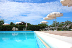 Swimming pool. Original photo swimming pool italy stock photos