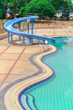 Swimming pool. A Part of Swimming Pool Stock Photography