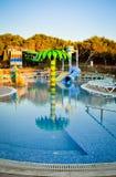 Swimming pool playground Royalty Free Stock Photo