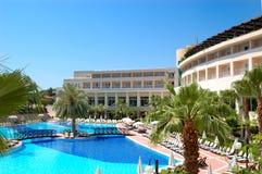 Swimming pool at popular hotel Royalty Free Stock Photos