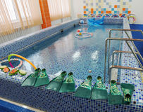 Swimming pool in a preschool Royalty Free Stock Photography