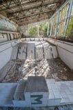 Swimming pool in Pripyat Stock Image