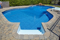 Swimming pool. Royalty Free Stock Photography