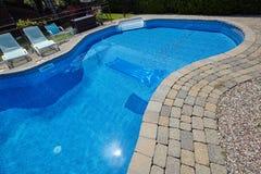 Swimming pool. Royalty Free Stock Image