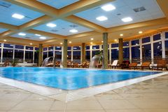 Swimming Pool - Relaxation Are Royalty Free Stock Photography
