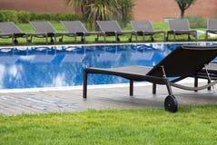 Swimming pool resort Royalty Free Stock Image