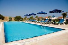 Swimming pool in resort Stock Image