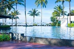 Swimming pool in resort Royalty Free Stock Image