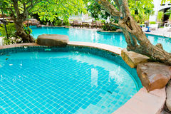 Swimming pool in the resort. Stock Photography
