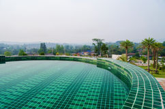 Swimming pool in resort Royalty Free Stock Image