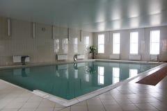 Swimming pool in resort sanatoriums. Indoor swimming pool in the sanatorium of the resort Stock Photos