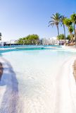 Swimming pool in a resort or villa Royalty Free Stock Photography