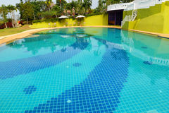 Swimming pool resorts Royalty Free Stock Photos