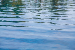 Swimming pool rippled water Stock Photos