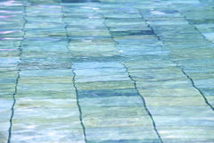 Swimming Pool Ripples Stock Images