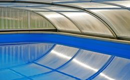 Swimming Pool Roof Royalty Free Stock Photography