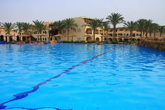 Swimming pool in Sharm el sheikh Royalty Free Stock Images