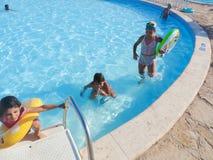 Swimming Pool in Sharm el-Sheikh Stock Photo