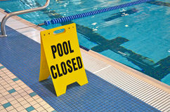 Swimming Pool Sign Royalty Free Stock Images
