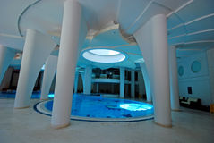 Swimming pool in a spa Royalty Free Stock Image