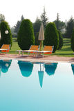 Swimming-pool SPA royalty free stock photo