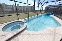 Swimming Pool and Spa Stock Photography