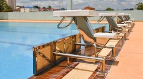 Swimming pool sport Royalty Free Stock Photos