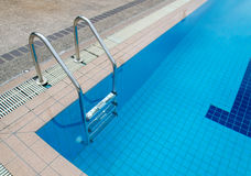Swimming pool at sport center Royalty Free Stock Photo