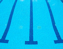 Swimming pool at sport center Royalty Free Stock Images