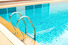 Swimming pool with stai Royalty Free Stock Photos