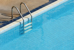 Swimming pool with stair Stock Images