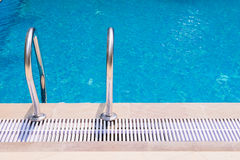 Swimming pool with stair Stock Image