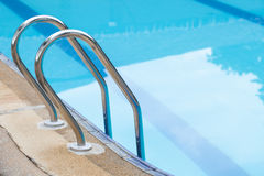 Swimming pool stair Stock Photography
