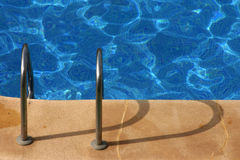 Swimming Pool Staircase - 8 Royalty Free Stock Photos