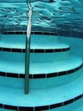 Swimming Pool Stairs Stock Photo