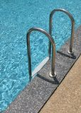 Swimming Pool Stairs Stock Photos
